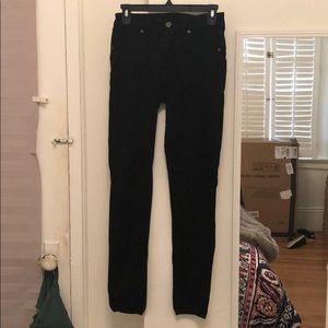 LF Car Mar black height-waisted skinny jeans - 25